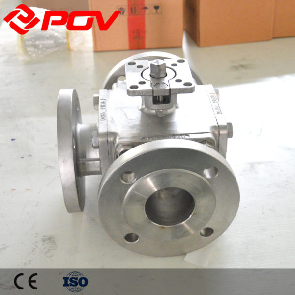 electric 3 way ball valve