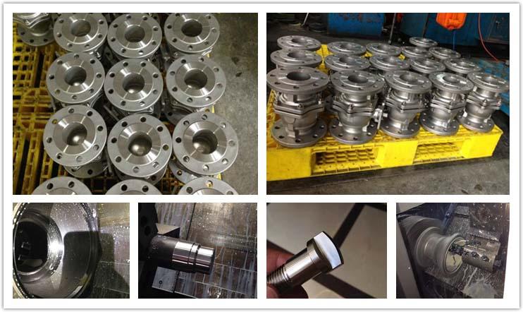 3 pc pneumatic ball valve 1