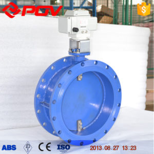 Ventilation electric butterfly valve