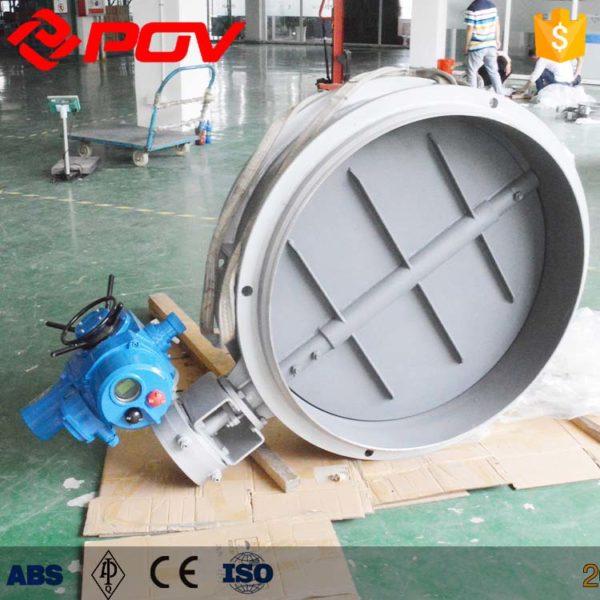 Ventilation electric butterfly valve
