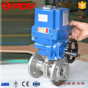 Electric ball valve application