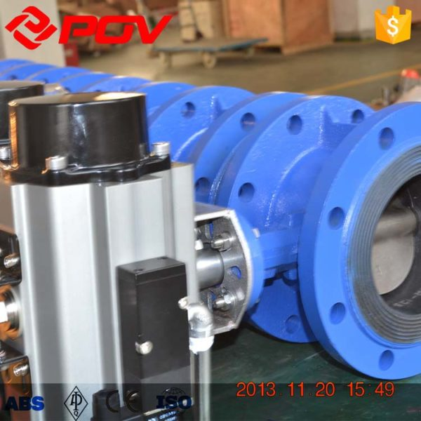 Flange air operated butterfly valve 2