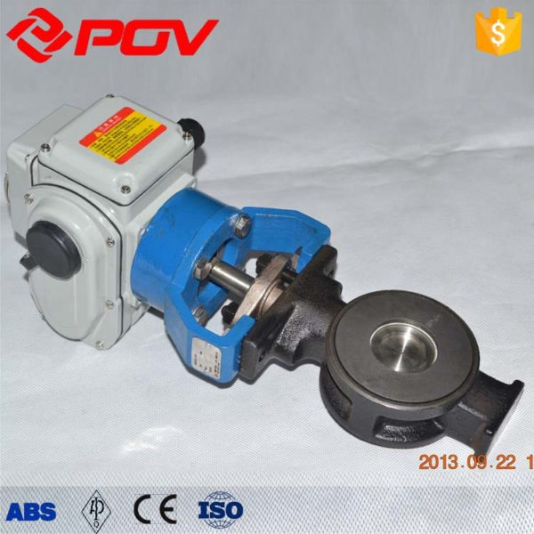 High performance electric butterfly valve