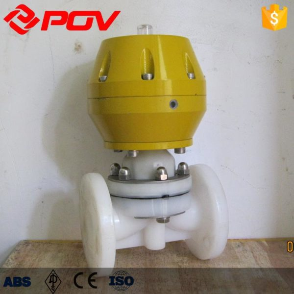PVDF pneumatic diaphragm valve