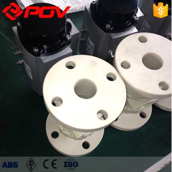 pp plastic true union pneumatic ball valvepp plastic true union pneumatic ball valve