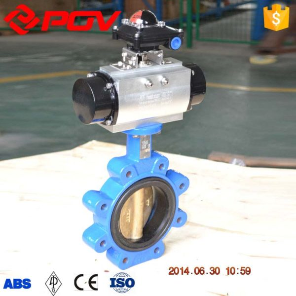 lug electric butterfly valve