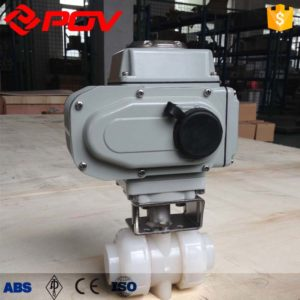 pvdf true union pneumatic ball valve