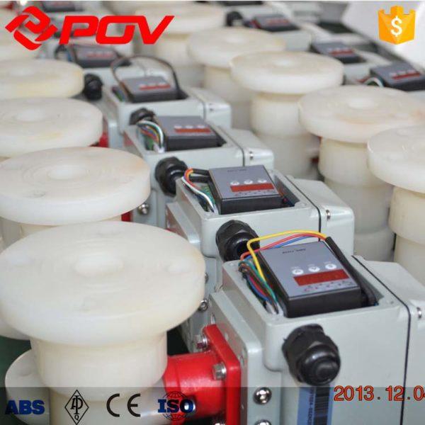 pvdf true union pneumatic ball valve