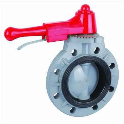 cpvc pneumatic butterfly valve