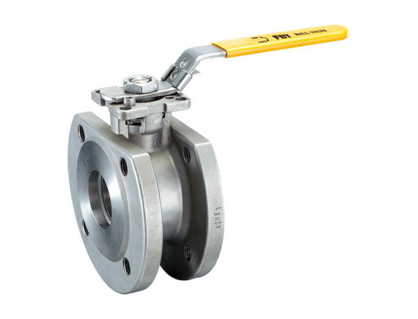 1 PC wafer ball valve ISO5211 direct mounting pad
