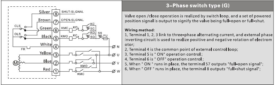 50nm electric actuator-pov valve china manufacturer Temperature Wiring Diagram