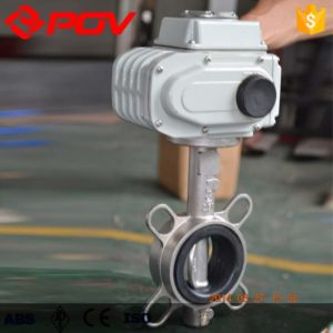 Stainless Steel electric butterfly valve
