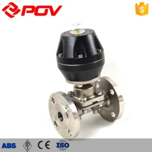 Stainless steel pneumatic diaphragm valve