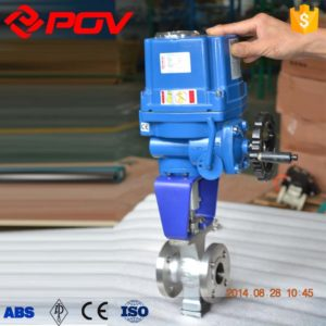 V-Port electric control ball valve 2