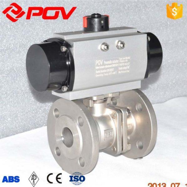 pneumatic ball valve CF8M