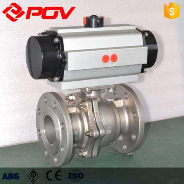 pneumatic ball valve DN50
