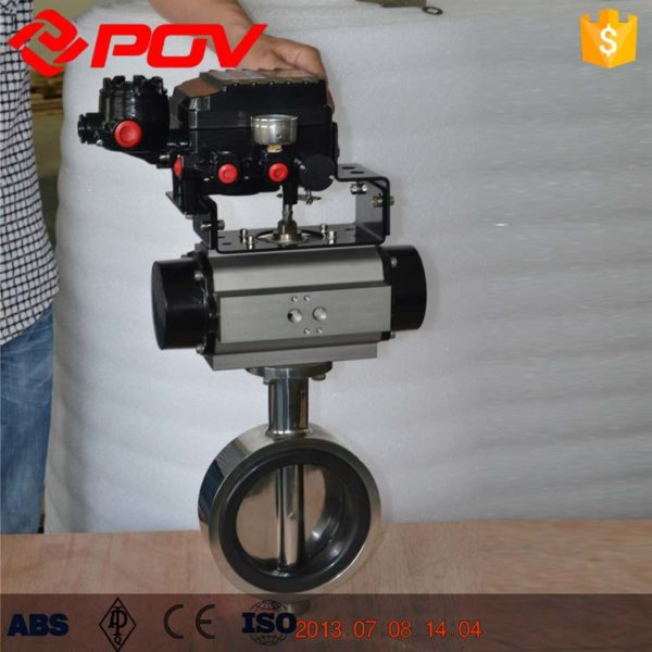 """Size:1"""" ~ 14"""" Body: Stainless Steel SS304,SS316,SS316L Ball: Stainless Steel SS304,SS316,SS316L Seats: EPDM,NBR,FPM,VMQ End connections: wafer Pressure ratings:0~16bar Standard: EN DIN PN10/PN16,ANSI Class 150lb,JIS5K/10K Gasket:complies with PTFE FDA 177.2600 This kind of ball valve is applied to pharmacy and biotechnology industries"""