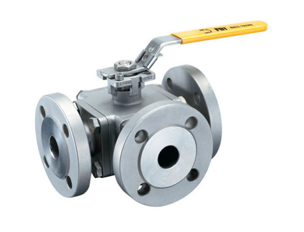 stainless steel ball valve ISO5211 direct mounting pad
