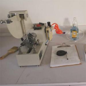 pinch valve Rubber test