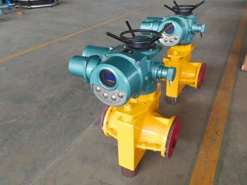 Electric pinch valve